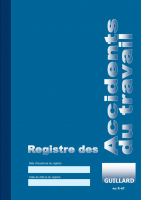 Registre des Accidents de travail Editions Guillard